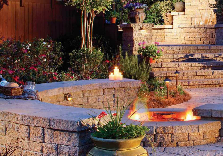 Outdoor Fireplaces And Fire Pits Built In The Utica Ny Area