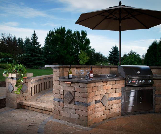 Outdoor Kitchens Stone Age Landscaping