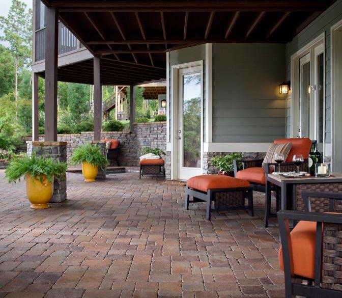 We Build Paver Patios And Walkways In Utica Ny For Your
