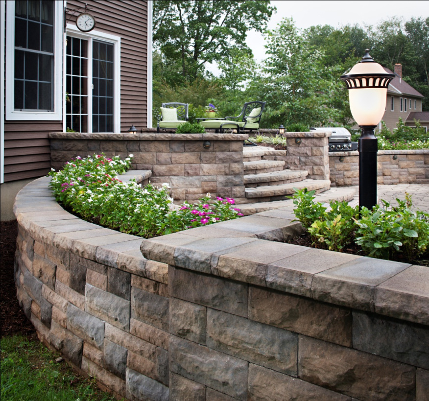 We Build Raised Patios Landings Amp Stairs In Utica Ny For