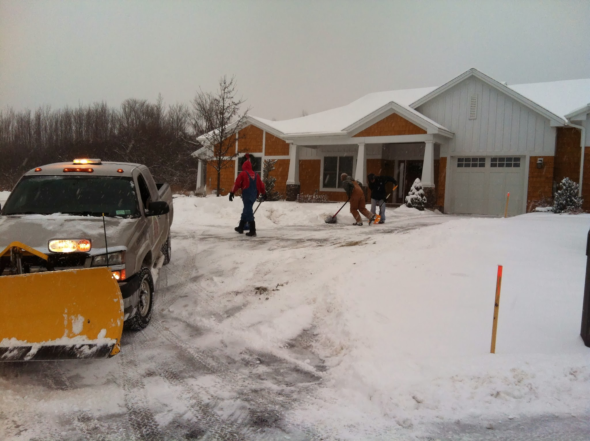 Snow Plowing Services In The Utica Ny Area Complete
