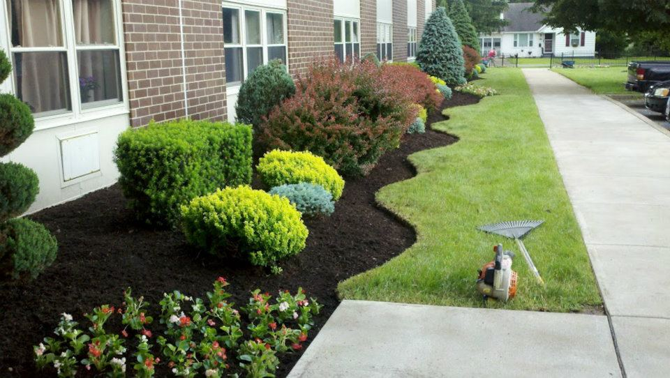 Spring Clean Up Utica Ny Stone Age Landscaping