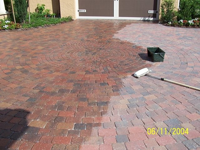 Wet Look Stone Age Landscaping