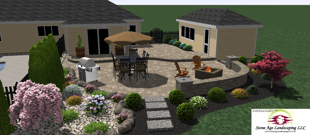 Landscape and Hardscape Designs!